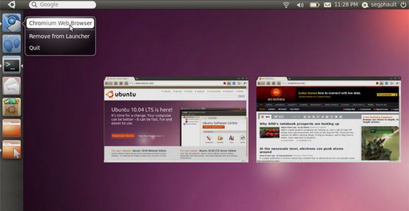 Unity is the most important change in Ubuntu Natty.